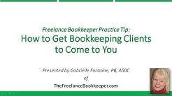 How to Get Bookkeeping Clients