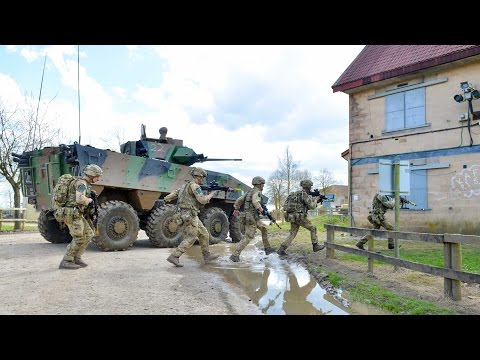 Britain & France Show Off Combined Strength On Ex Griffin Strike