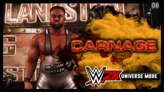 """WWE 2K - Universe Mode - WWE Carnage #3 - """"If Looks Could Kill"""" (219)"""