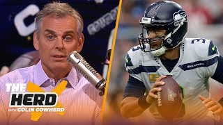 Download Wilson is most underrated player in NFL, Dak has to win a certain way, Colin talks Diggs   THE HERD Mp3 and Videos