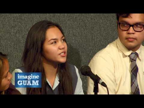 Imagine Guam student forum on culture