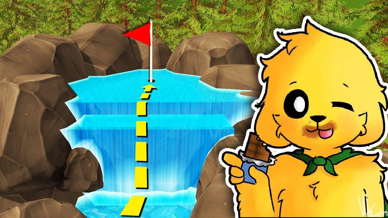 el-hoyo-imposible-de-la-cascada-de-agua-troll-mikecrack-en-golf-con-los-compas