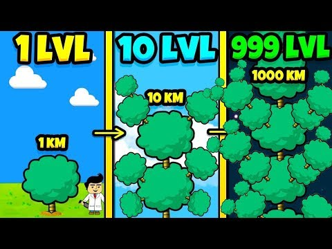 ЭВОЛЮЦИЯ ДЕРЕВА ЧТОБЫ ЗА ДЕНЬ ВЫРАСТИТЬ БЕСКОНЕЧНОЕ ДЕРЕВО В ИГРЕ INFINITY TREE!