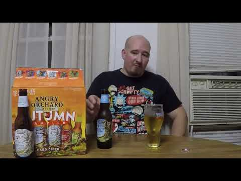 Angry Orchard Autumn Sampler hard cider review