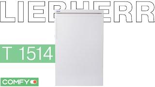 Liebherr T 1514 -  однокамерный малогабаритный холодильник - Видеодемонстрация  от Comfy(Небольшой однокамерный холодильник Liebherr T 1514 оборудован морозильным отделением и работает под управлением..., 2014-09-27T12:02:42.000Z)