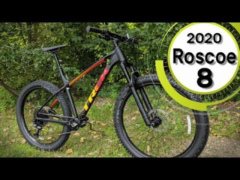 Factory Upgrade 2020 Trek Roscoe 8 27.5+ Hardtail MTB Feature Review and Weight