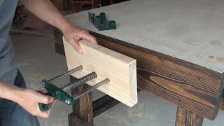 Building A Woodworking Workbench / 목공 작업대 만들기