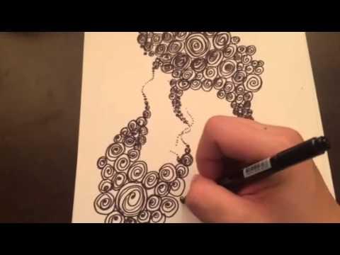 Abstract Art Pen Black Youtube