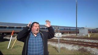 Amtrak & CSX Near Train Catastrophe At The Interlocking Diamond