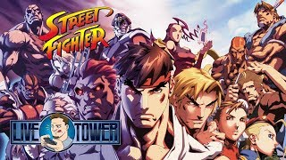Live Domingueira Retro | Street Fighter | Unboxing Do Livro Essencial Street Fighter Warpzone