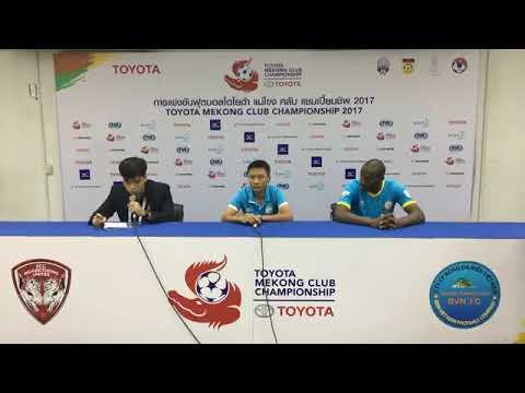 TMCC 2017 Final (2nd Leg) Post-match Press Conference - Sanna Khanh Hoa BVN FC