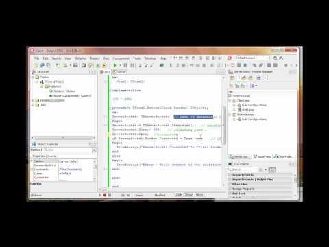 Simple Delphi RAT Client/Server | Part 1 | Getting Connected