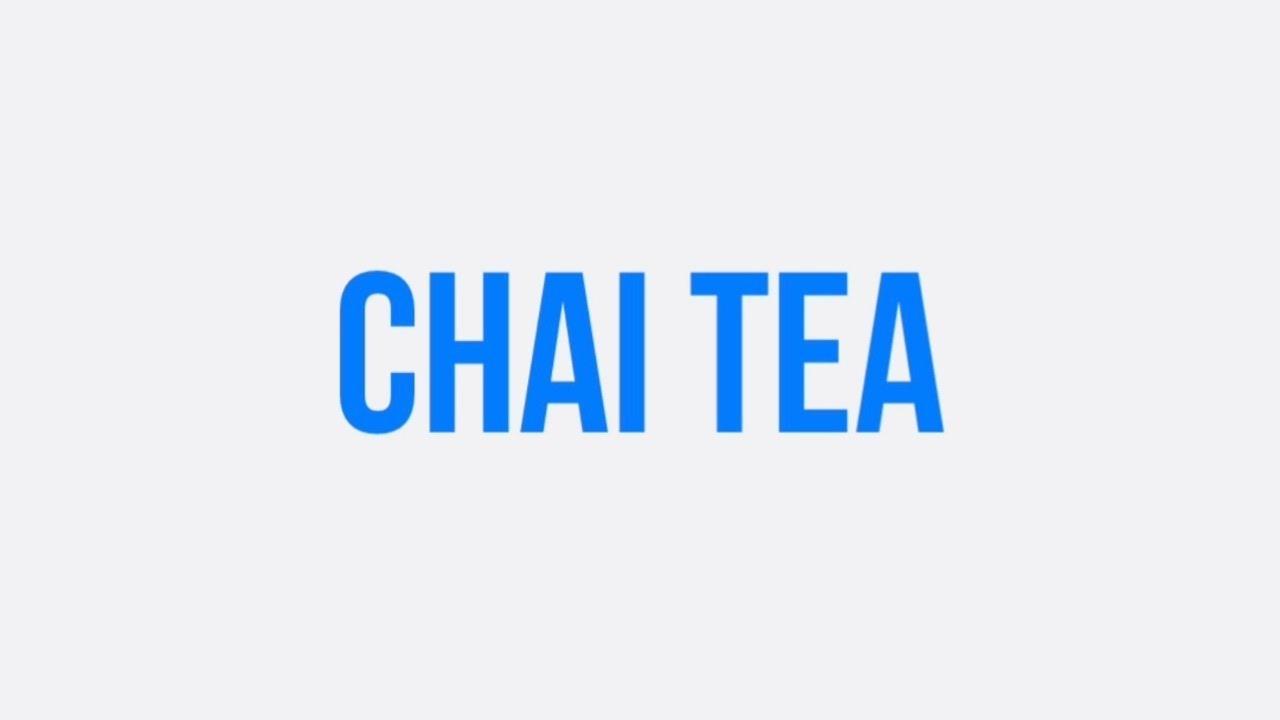 Chai Tea | The Rasoi Recipes