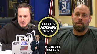 Pucks and Ponies with the Great Eddie Olczyk | Ep 5 - That's Hockey Talk