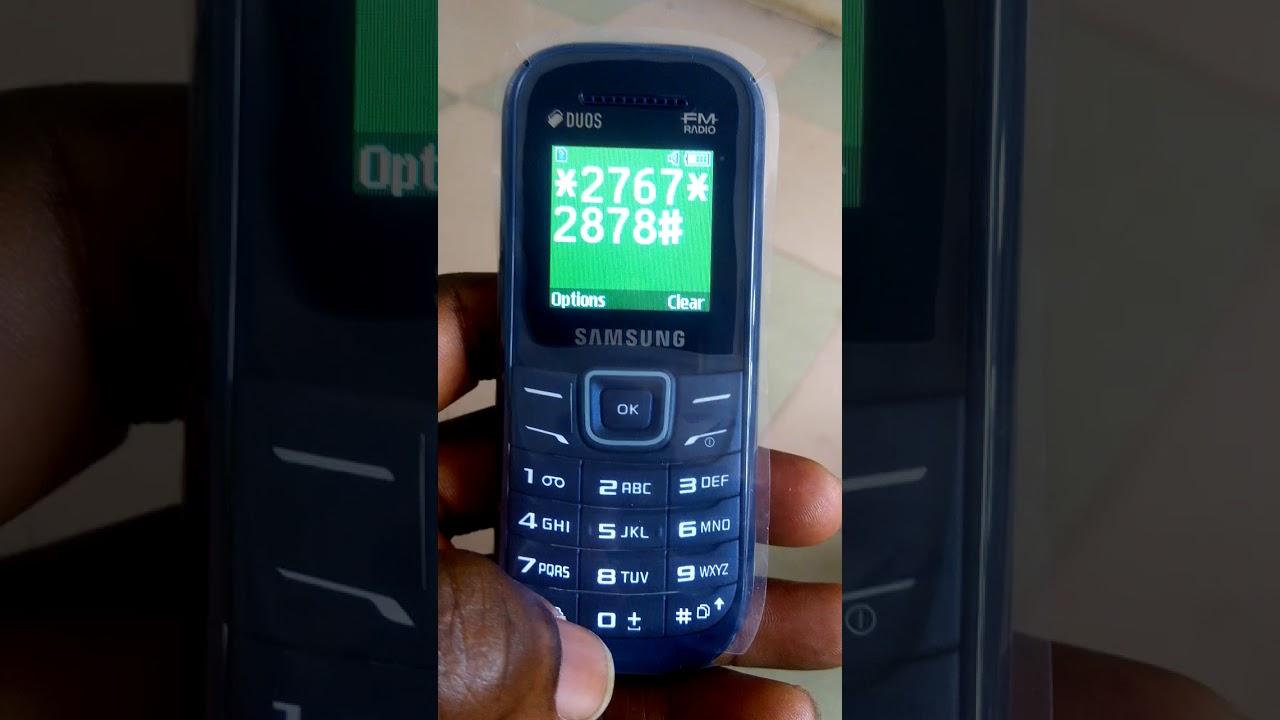HARD RESET FOR SAMSUNG E1207Y  - BIZAY TV GH  - THFilm pro