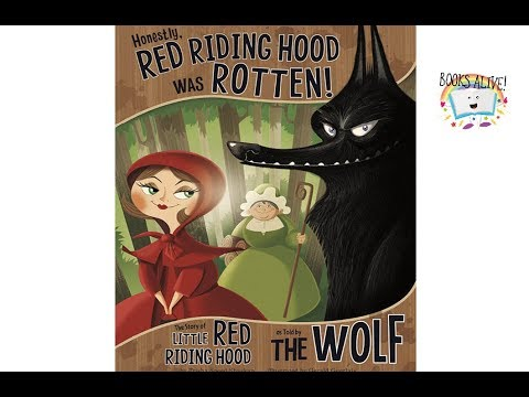 Red Riding Hood Was Rotten Books Alive Read Aloud Book For Kids