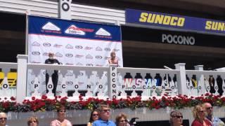 National Anthem at Pocono International Raceway