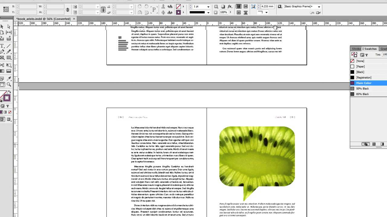 InDesign Book Template: Aristo - YouTube