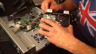 U-Verse DVR Motorola VIP 1225 Hard Drive Upgrade Hack