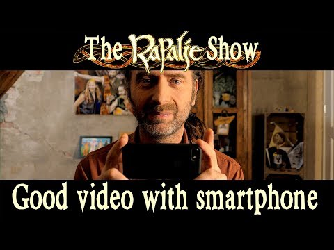 How to take good videos with your smartphone for our video clip - Rapalje Show #40