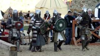 Меч Лидского Замка: Украина vs Польша (5vs5) ч2(Фестиваль средневековой культуры