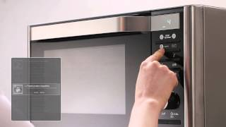SAMSUNG Slim Fry Microgolfoven / Micro-ondes - Product video Vandenborre.be
