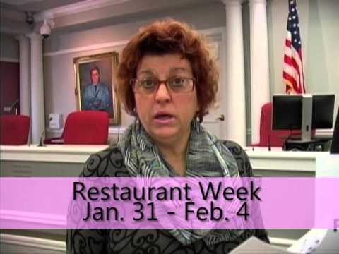 Restaurant Week coming to Fair Lawn Jan. 31 - Feb. 4.  For more info, call 201-796-7050.