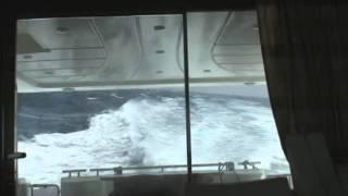 Aegean sea, rough sea