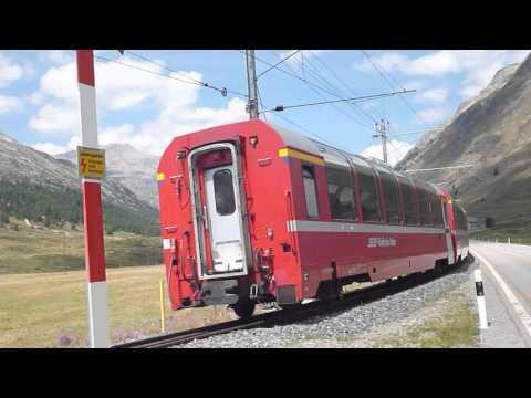 Bernina Express - Suisse - Août 2015