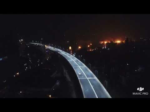 Drone footage - Akhtaruzzaman Chowdhury flyover - Chittagong, Bangladesh