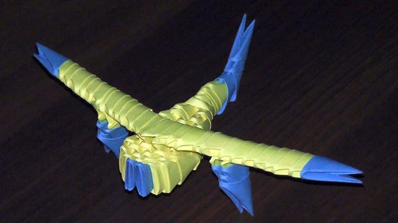 оригами из модулей военный корабль пошаговое фото