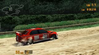 Gran Turismo 3 A-Spec Tahiti Maze Time Trial   1080P PCSX2 Emulator