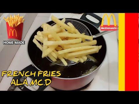 Kentang Goreng Renyah Ala KFC Anti Gagal.