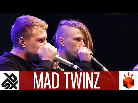 MAD TWINZ | Grand Beatbox TAG TEAM Battle 2017 | Elimination