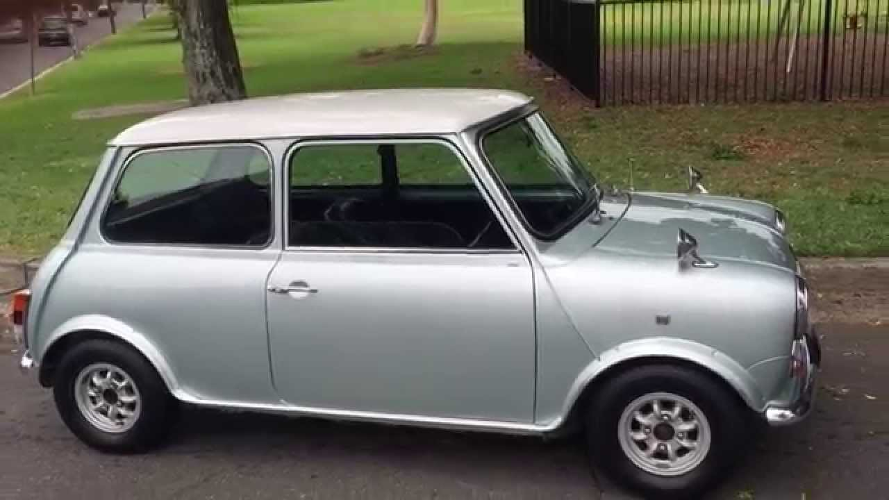Rover Mini Cooper Mint Collectors Edition 1988 Model From Japan