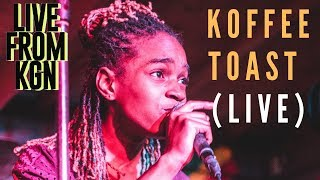 KOFFEE  - TOAST (FIRST LIVE PERFORMANCE - LIVE FROM KGN CONCERT)   #downdiroadLIVE