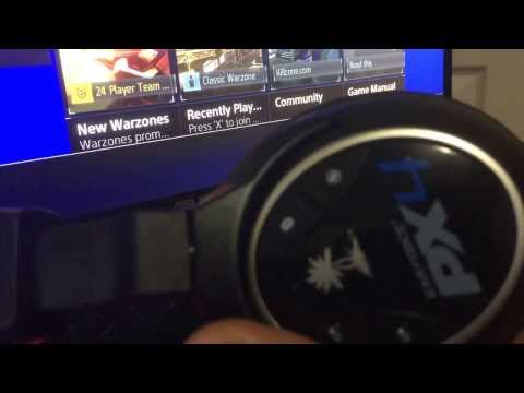 How To Setup Turtle Beach PX4 Headset With PS4