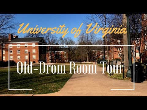 University of Virginia /Old dorm room tour