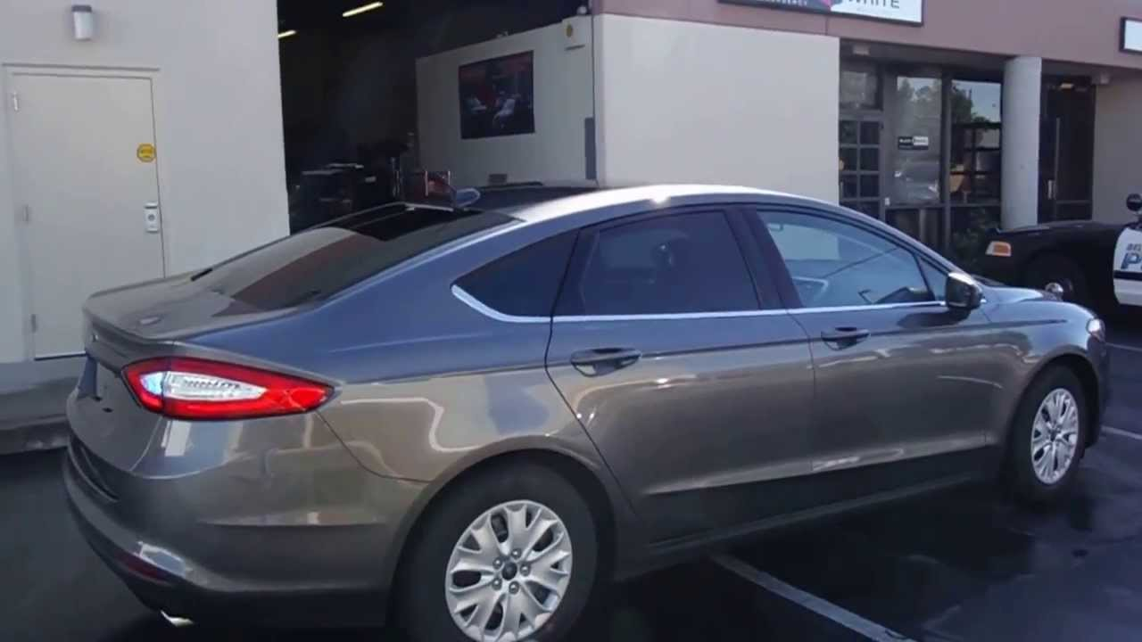 2014 Ford Fusion Undercover Police Vehicle