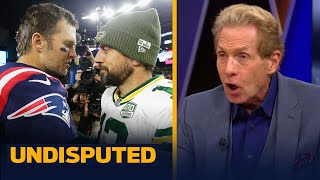 Aaron Rodgers has 10x the pressure as Tom Brady in NFC Championship — Skip | NFL | UNDISPUTED