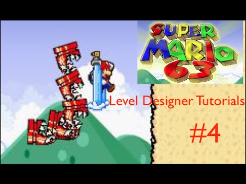 super mario 63 level designer