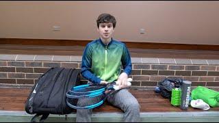 My training bag check \ Wilson Federer DNA Bag