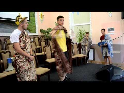 Vyzhnytsia Сamp - сценка про трьох синів