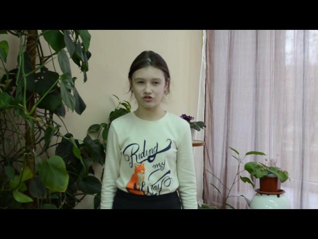 Изображение предпросмотра прочтения – СофьяЛыгина читает произведение «Волк на псарне» И.А.Крылова