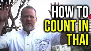 How I learn languages // How to count in Thai Language