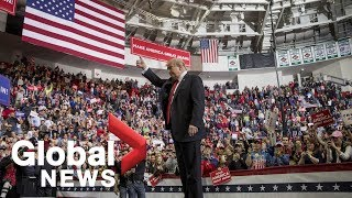 President Trump rally in Green Bay, Wisconsin
