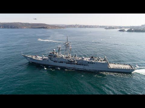 HMAS Melbourne Final Return
