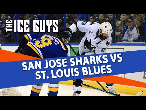 San Jose Sharks vs St. Louis Blues | The Ice Guys | NHL Picks