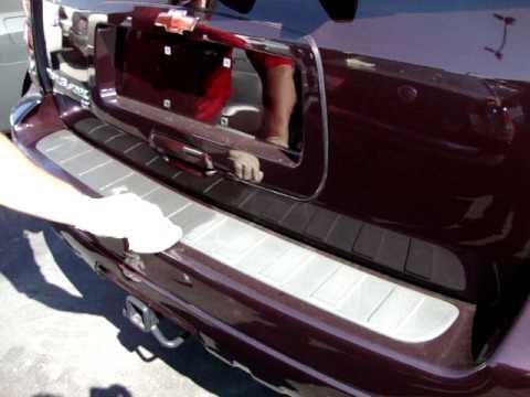 TC Black Fusion - Chevrolet Trailblazer - Rear Bumper ...
