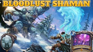 [Legend] Bloodlust Token Shaman | The Boomsday Project | Hearthstone Guide How To Play